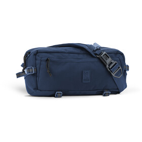 Chrome Kadet Nylon Messenger Bag, navy blue tonal